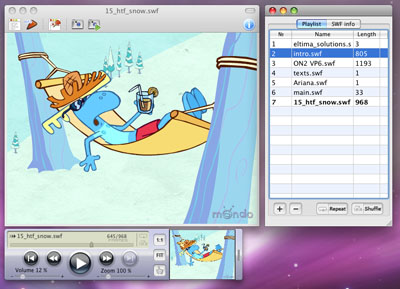 FLV Player Mac screenshot